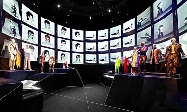 """""""David Bowie is"""" já foi vista por mais de 1 milhão de pessoas no mundo Foto: Vicente Gil / Divulgação"""