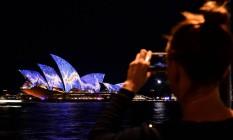 Vivid Sydney Foto: SAEED KHAN / AFP