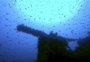 O P311 foi afundado na Sardenha em 1942, após ataque frustrado contra navios italianos Foto: Massimo Domenico Bondone / AP