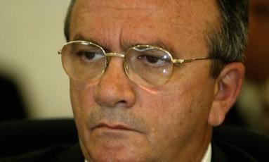 O ex-ministro César Rocha, em 2006 Foto: Ailton de Freitas / Agência O Globo