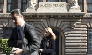 Sede do banco central do México Foto: Susana Gonzalez / Bloomberg