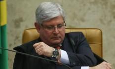 O procurador-geral da República, Rodrigo Janot Foto: André Coelho / Agência O Globo