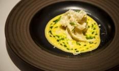 Olympe, dos chefs Claude e Thomas Troigros venceu em duas categorias: Restaurante e Francês Foto: Hermes de Paula / Agência O Globo