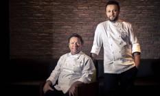 Claude e Thomas Troisgros, estrelas da alta gastronomia do Rio Foto: Hermes de Paula / Agência O Globo