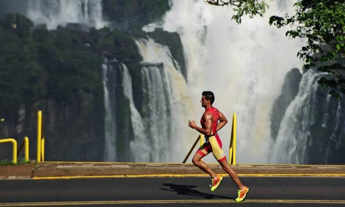 Meia Maratona das Cataratas, em Foz do Iguaçu Foto: Divulgação / Marcos Labanca