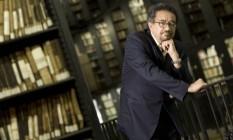 """Muniz Sodré, professor da UFRJ e autor do romance """"Bagulho"""" Foto: Silvia Costanti / Valor"""