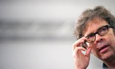 O autor Jonathan Franzen em foto de 2010 Foto: Arno Burgi / AP Images