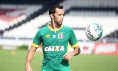 Nenê, que disputou 29 das últimas 30 partidas do Vasco, é a maior arma do time contra o Bahia, neste sábado Foto: Divulgação