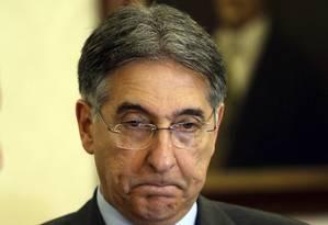O governador de Minas, Fernando Pimentel Foto: Gabriel de Paiva / Agência O Globo