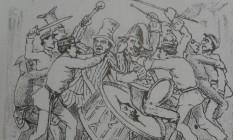 Desenho de 'As aventuras de Nhô Quim & Zé Caipora' Foto: Divulgação