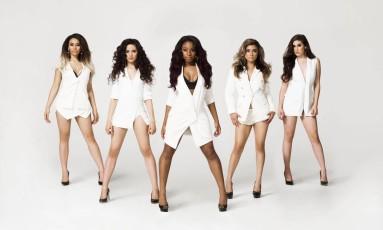 O grupo vocal Fifth Harmony Foto: Divulgação