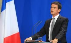 Manuel Valls, primeiro-ministro da França Foto: Krisztian Bocsi / Bloomberg