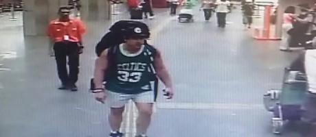 Rye Hunt, australiano desaparecido, foi filmado pelas câmeras de segurança do Galeão Foto: Divulgação