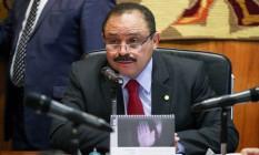 O presidente interino da Câmara dos Deputados, Waldir Maranhão Foto: André Coelho / Agência O Globo