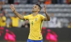 Jonas ganhou elogios do técnico Dunga após a vitória sobre o Panamá Foto: Divulgação/CBF