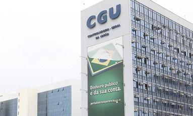 Prédio da extinta Controladoria Geral da União (CGU) Foto: Jorge William / Agência O Globo