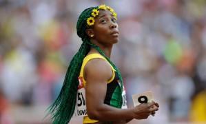 Shelly-Ann Fraser-Pryce tentará o tricampeonato olímpico nos 100m Foto: Kin Cheung/AP