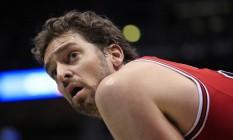 Gasol disse que está pensando se vem aos Jogos. O jogador de basquete teme o vírus zika Foto: Darren Hauck / AP