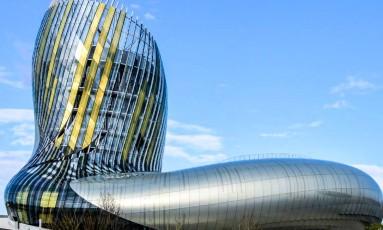 O novo museu La Cité du Vin, em Bordeaux, na França Foto: Divulgação