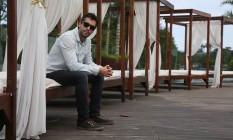 André Antunes é um dos três novos sócios da casa, que foi vendida em março Foto: Custódio Coimbra / Agência O Globo