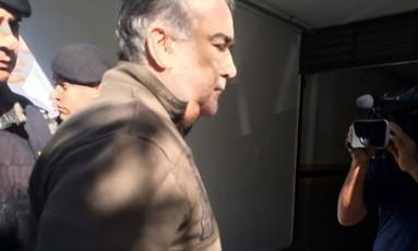 Nárcio Rodrigues da Silveira chega à a sede do Ministério Público Estadual de Minas Gerais Foto: Reprodução TV Globo / CBN