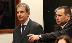 Alberto Youssef, na CPI da Petrobras na Câmara Foto: Ailton de Freitas / Agência O Globo