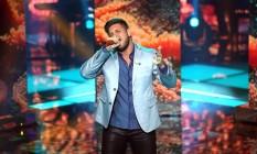 Renan Ribeiro durante o 'The Voice Brasil' Foto: TV GLOBO
