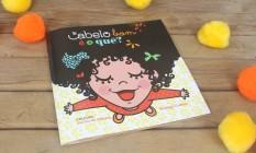 Livro traz ilustrações com diversos tipos de cabelo Foto: Divulgação