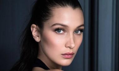 Bella Hadid para a Dior Foto: Divulgação