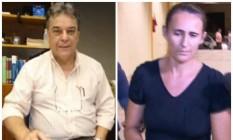 O advogado Roberto Malvar Paz e a professora Tatiana Mara Carvalho Araújo Teodoro são acusados de pedofilia Foto: Fotomontagem