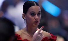 Katy Perry em um evento contra a AIDS no festival de Cannes. Foto: JEAN-PAUL PELISSIER / REUTERS