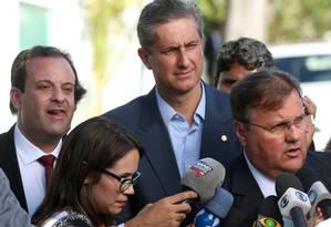 Geddel diz que Temer precisa analisar todos os lados antes de demitir ministro Foto: Jorge William / Agência O Globo