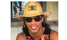 Ronaldinho em sua postagem em Las Vegas nesta segunda Foto: Reprodução
