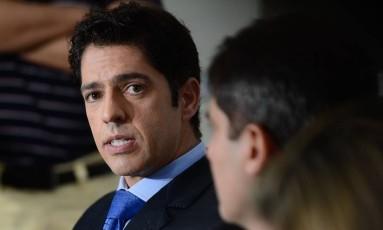 Delegado Alessandro Thiers, afastado do caso de estupro coletivo no Rio Foto: O Globo