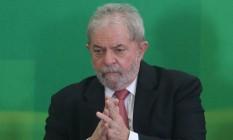 O ex-presidente Luiz Inácio Lula da Silva Foto: Andre Coelho / Agência O Globo / 17-3-2016