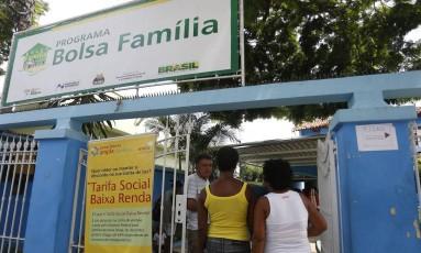 Recadastramento de beneficiários do Bolsa Família em São Gonçalo em março de 2015 Foto: Divulgação / 17-3-2015