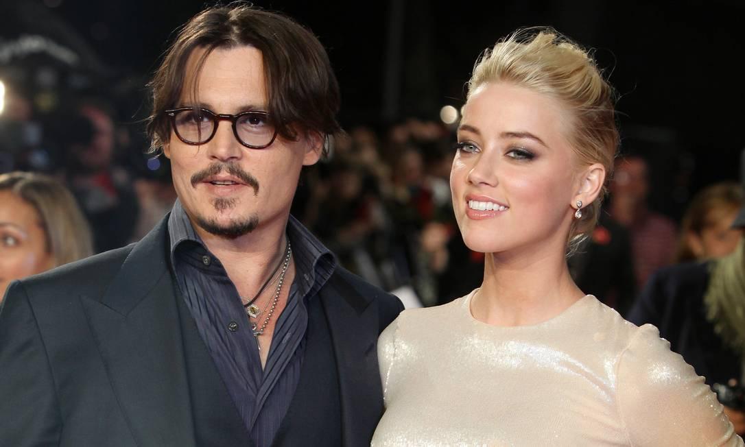 Johnny Depp e Amber Heard: troca de acusações continua Foto: Joel Ryan / AP