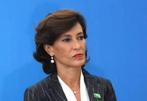 A presidente do BNDES, Maria Silvia Bastos Marques Foto: Givaldo Barbosa / Agência O Globo
