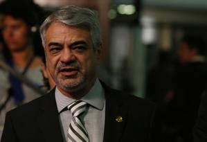 O líder do PT no Senado, senador Humberto Costa (PE) Foto: Michel Filho / Agência O Globo 01/06/2016