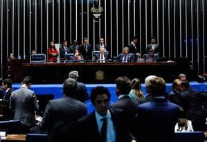 Texto aprovado amplia de 20% para 30% o percentual das receitas que podem ser usadas livremente pela União Foto: Jonas Pereira/Agência Senado