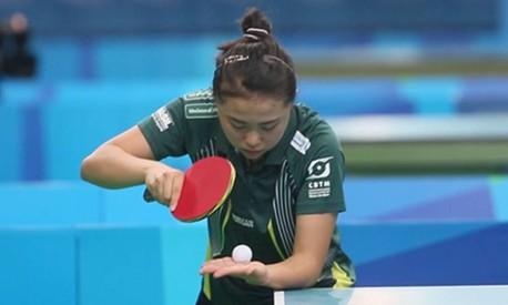 Tênis de mesa: a diferença é o efeito na bola Foto: Antonio Scorza