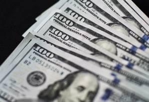 Notas de dólar Foto: Xaume Olleros / Bloomberg