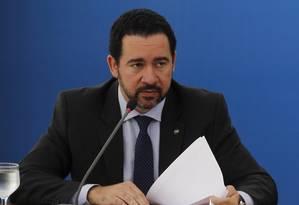 O ministro em exercicio do Planejamento Orçamento e Gestão, Dyogo Oliveira Foto: Givaldo Barbosa / Agência O Globo 02/06/2016