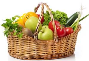 Frutas e verduras Foto: Divulgação