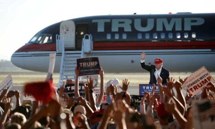 Candidato à presidência americana Donald Trump Foto: LUCY NICHOLSON / REUTERS