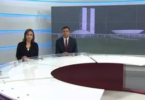 Após recondução de Ricardo Melo à EBC, emissora usa 'presidenta' em telejornal Foto: Reprodução