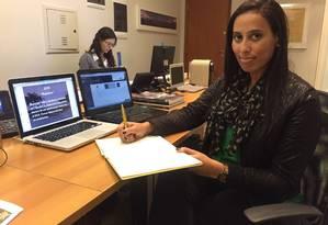Danielle Silva, gerente de operações do Grupo Albero, ainda enfrenta olhares desconfiados Foto: Divulgação