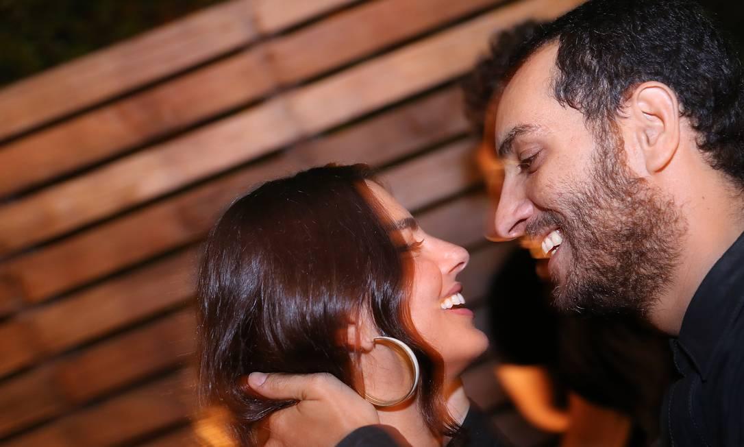 Candé Salles e Renata Mader: o amor está no ar Murillo Tinoco/ Divulgação