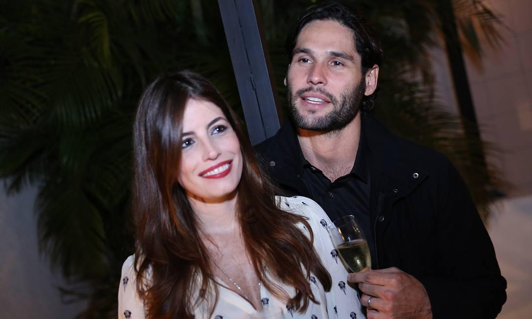 O casal Dudu Azevedo e Fernanda Mader Murillo Tinoco/ Divulgação