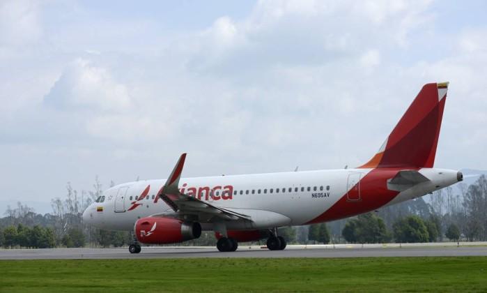Avianca suspende voos para Venezuela após incidente